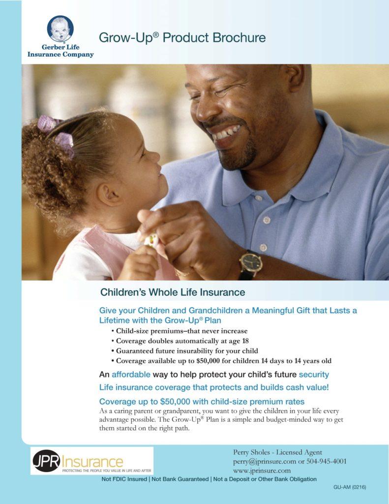 Gerber Brochure JPR Insurance 11.2.18